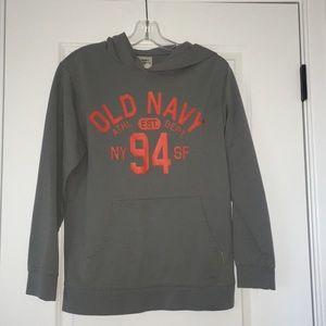 Old Navy Grey Hoodie
